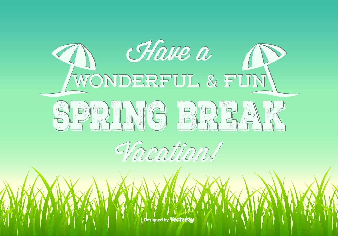 DD Spring Break Illustration 87603 Preview